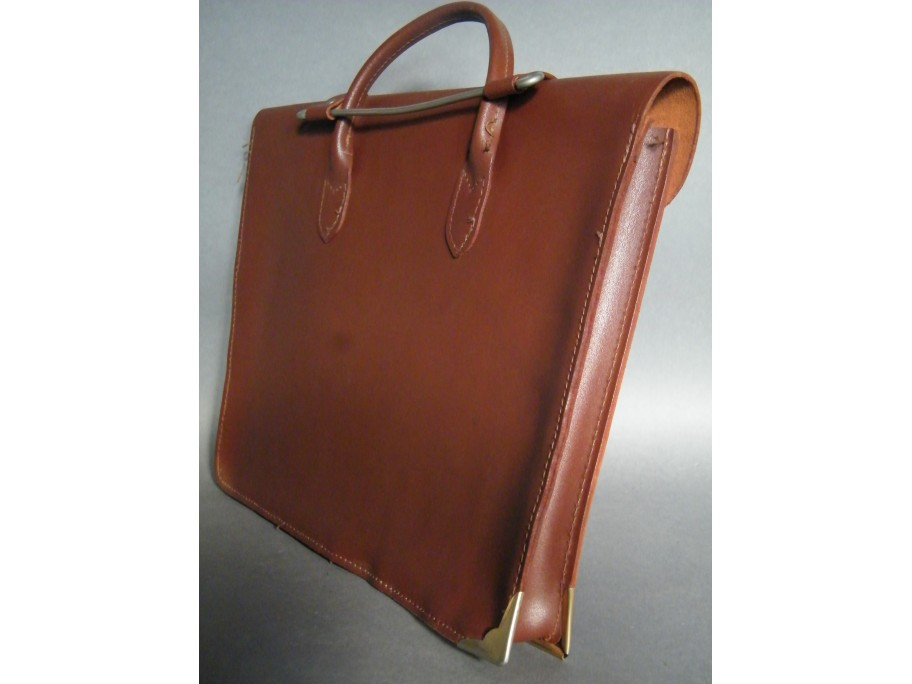 #1316 Leather Music or Document Case, circa 1960s - 1970s **SOLD**