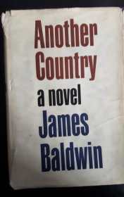 "#1833 Novel ""Another Country"" by James  Baldwin, 1963, (Scarce) **On Hold - Sale Pending**"
