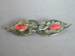 #1431 Art Nouveau Ladies Belt Buckle, circa 1890-1920