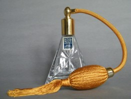 "#1022 ""Royal Scot"" Lead Crystal Atomiser, circa 1970s **SOLD**"
