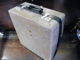 "#1728   ""REV ROBE"" Fitted Suitcase, circa 1952 - 1955  **SOLD**  2018"