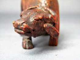 #1740  Rare Chinese Carved Bamboo Boy on Buffalo, Ming Dynasty 1368-1644