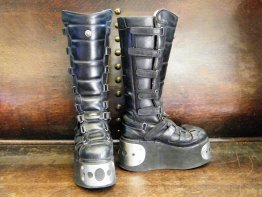 #1714  Pair of New Rock Boots, Size 7 **Sold** September 2018