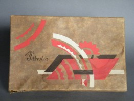 "#0652 Art Deco ""Russian Constructivist"" Style Decorated Box, circa 1920s **SOLD**"