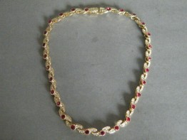 #0674 Attwood & Sawyer necklace, circa 1980s *SOLD*