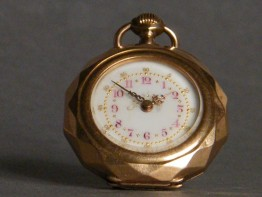 #0853 Antique 18K Gold Ladies Remontoir Pocket Watch, circa 1875-1910 **SOLD**