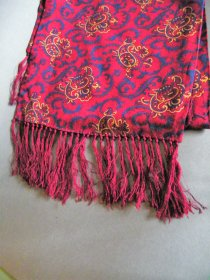 "#1802  Paisley ""Tootal"" Scarf, circa 1960s"