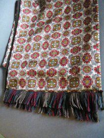 "#1781  Reversible ""Radiant"" Paisley Scarf, circa 1960s  **SOLD**  February 2020"