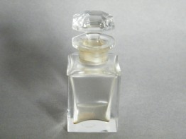 #1292 Cut Glass Baccarat Crystal Perfume Bottle, circa 1895-1910
