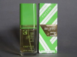 "#0765 Carven ""Ma Griff"" Eau de Cologne, circa 1970s  **SOLD**  through our Liverpool shop 2016"