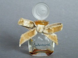 #0393 Small Cabochard Perfume Bottle circa 1959 **SOLD**