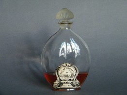 "#0446 ""L'Heure Bleue"" Scent Bottle by Lalique for Guerlain circa 1914"