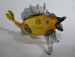 #1594  Venetian Glass Fish, circa 1955 - 1975