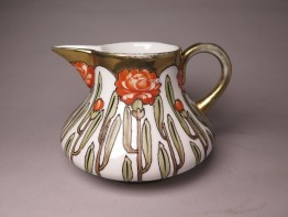 #1657  Rare Secessionist Style Art Nouveau Cream Jug from Japan, circa 1900 - 1910