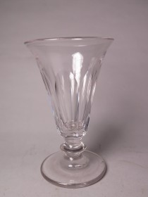 #1506  Panel Cut Jelly Glass, circa 1830 -1840