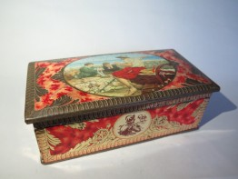 #1522  Rare Benson's Confectionery Tin, circa 1920s - 1930s  **Sold** ?