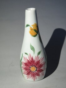 #1519  Hand Painted Radford Pottery Flower Vase, circa 1950s