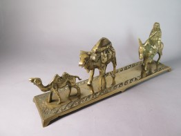 #1551  Donkey & Camel 'Train' from Turkey, circa 1900 - 1930    **SOLD**  April 2017