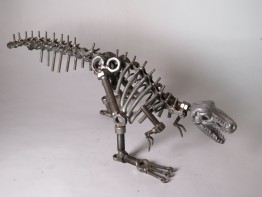 #1600  'Scrap Metal' Dinosaur, 20th Century