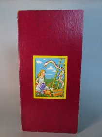 "#1695  Children's Story & Nursery Rhyme 'Snakes & Ladders"" Board, circa 1940s - 1950s  **On Hold Sale Pending**"