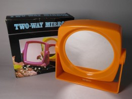 "#1587   Plastic ""Two Way"" Mirror, circa 1960s"
