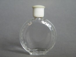 #0645 Small Glass Scent Bottle by Lalique, circa 1970s **SOLD**