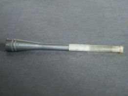 #0232 1920s or 1930s Aluminium Ladies Cigarette Holder - Unused