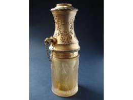 #0028 Art Deco Lalique Glass Vapourizer - pre 1925 **SOLD**