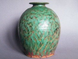 #0547  Large Studio Pottery Vase by Trevor Corser   ** Sold**  to Japan - January 2016