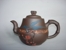 #0860 Late 20th Century Yixing Teapot by Kuai Xin Long