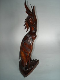 "#0051 19th/Early 20thCentury Carved Indonesian Bird ""Sold"" to Netherlands - November 2007 售至荷兰 - 2007年"