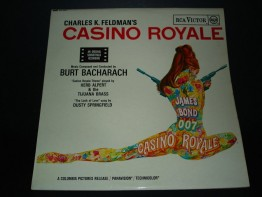 #0139 Rare 1966 Casino Royale Sound Track LP **Sold** through our Liverpool Shop, february 2008