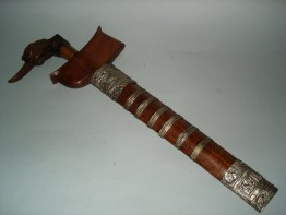 "#0169  Malayan ""Kingfisher"" Kris with Pamir Blade , 19th/20th Century **Sold** to Malaysia"
