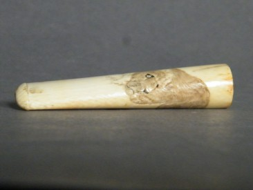 #1400 Japanese Ivory Cheroot or Cigar Holder, Meiji period (1868-1911) **SOLD** through our Liverpool shop December 2016