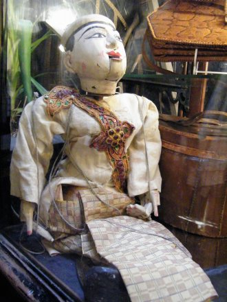 #1578  Large Puppet from Burma, circa 1850 - 1920, **Sold** April 2018