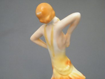 #1760  1930s - 1940s Art Deco Figure **SOLD** 2019
