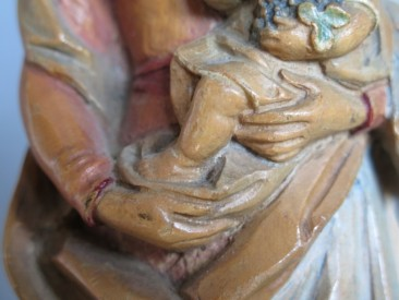 #1486 Finely Carved Madonna and Child, circa 1920s **SOLD** through our Liverpool shop
