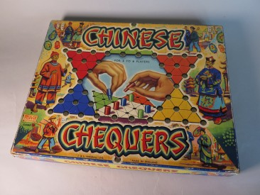 #1603 Chinese Chequers Board Game, circa 1950s - 1965