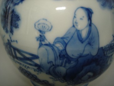 #0189  Chinese Late Ming Double Gourd vase, Chongzhen Reign (1628-1644) **Sold** November 2008 已售 - 2008年11月