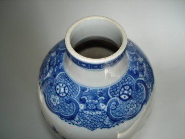 #0225 18th Century Chinese Export Vase - Qianlong reign (1736-1795) **Sold** to China  - September 2009 售至中国 - 2009年9月