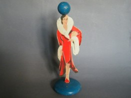 #1236 Art Deco Ladies Hat Stand, circa 1930s **SOLD**