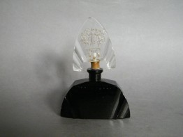 #0898 1920s Art Deco Glass Scent Bottle **SOLD**