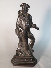 "#1546 Cast Iron Sailor ""Britain's Pride"", circa 18"