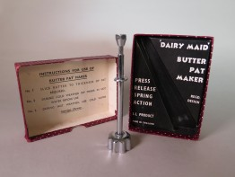 #1669  'Dairy Maid' Butter Pat Maker, circa 1940s  **SOLD** 2018
