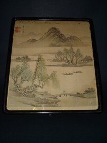 #0126  Chinese Painting on Silk - 19th/20th Century  **Sold** December 2010 利物浦店内售出 - 2010年12月