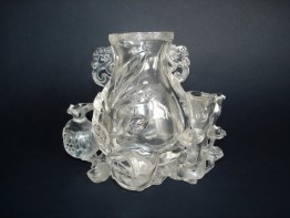 #0106 18th Century Chinese Rock Crystal Sculpture **Sold** 售至中国  to China