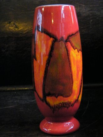 "#1765 1960s Poole Pottery ""Delphis"" Vase by Ann Godfrey Lloyd  **SOLD** December 2019"
