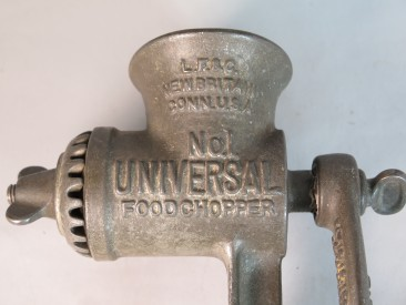 #1561  Antique Cast Iron Universal Food Chopper, from U.S.A.  **Sold** 2018